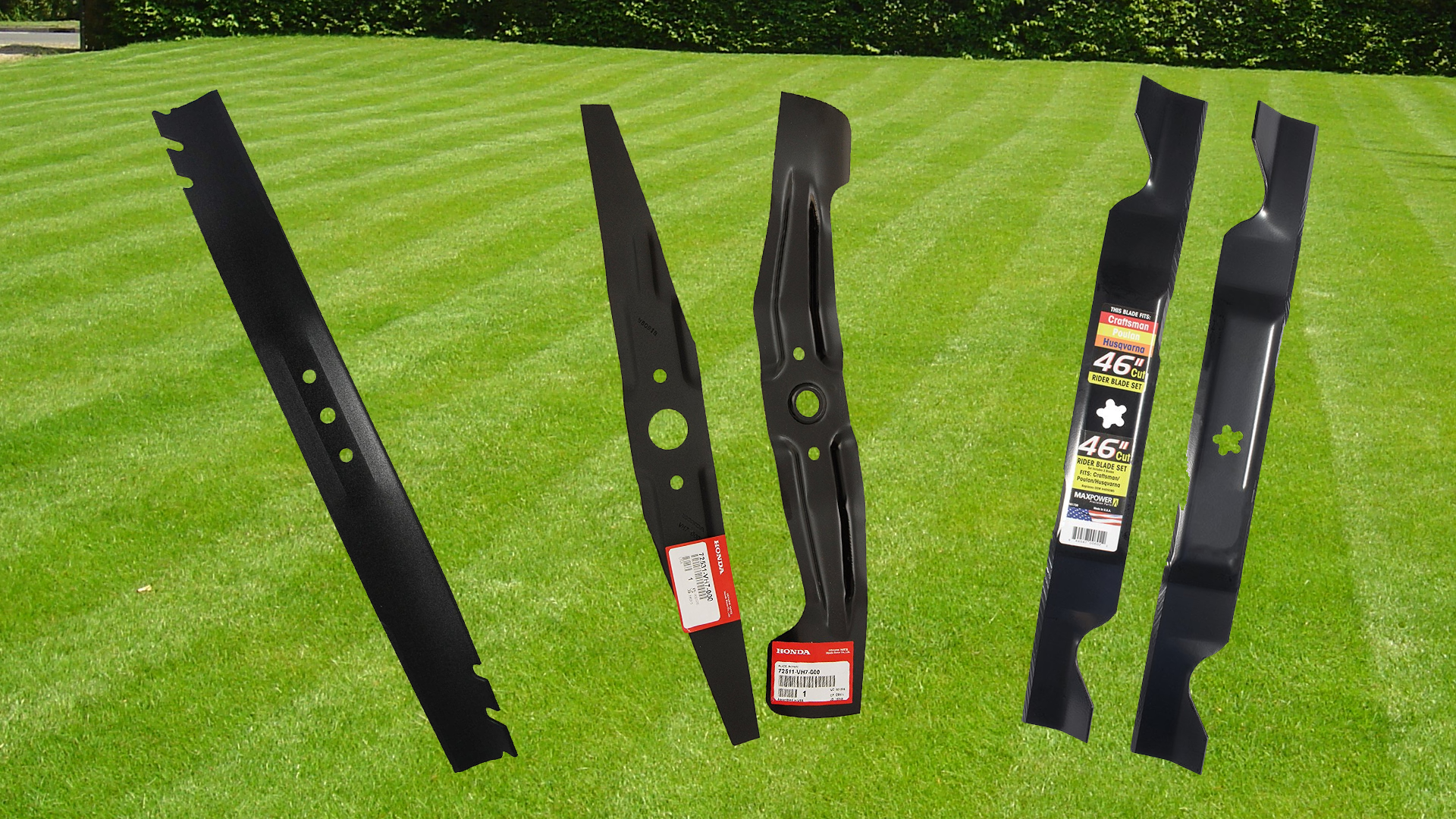 best lawn mower blades reviews