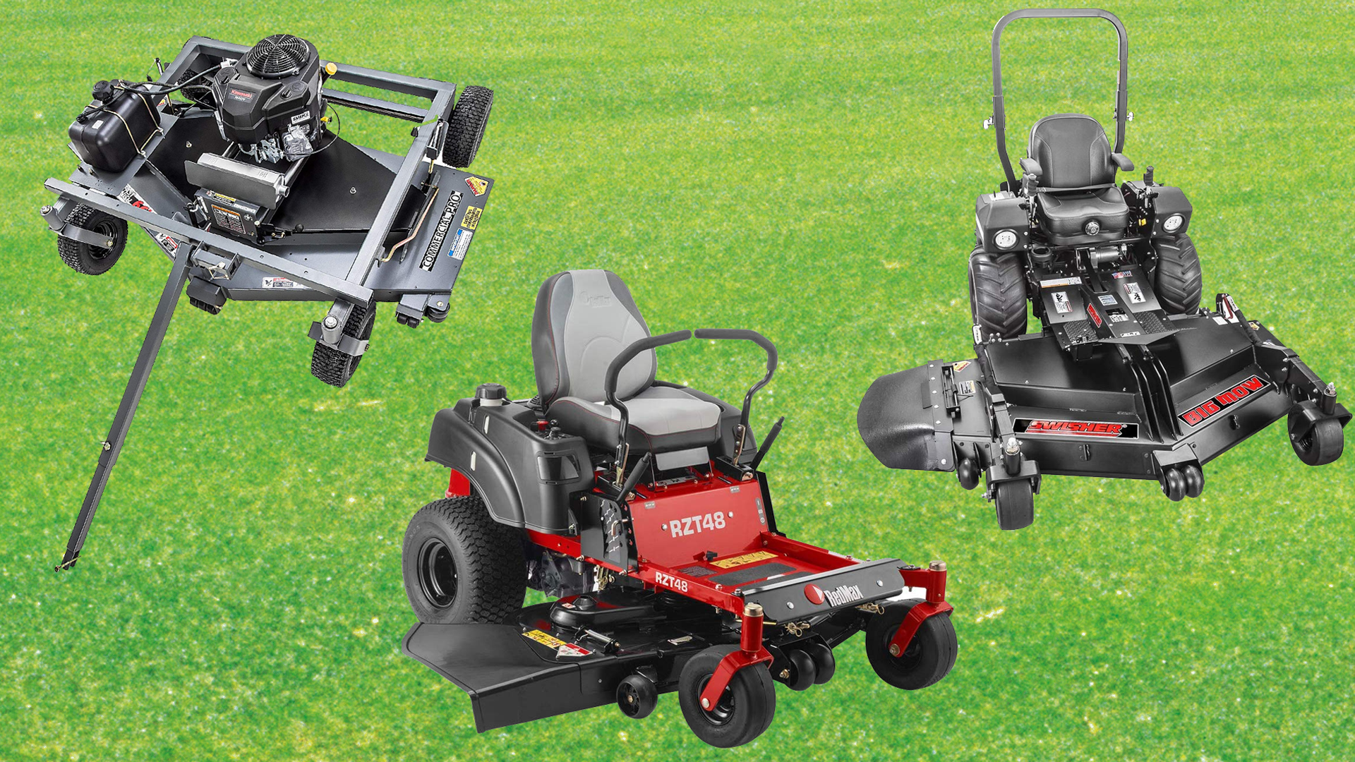 best commercial lawn mower brands review and buying guide