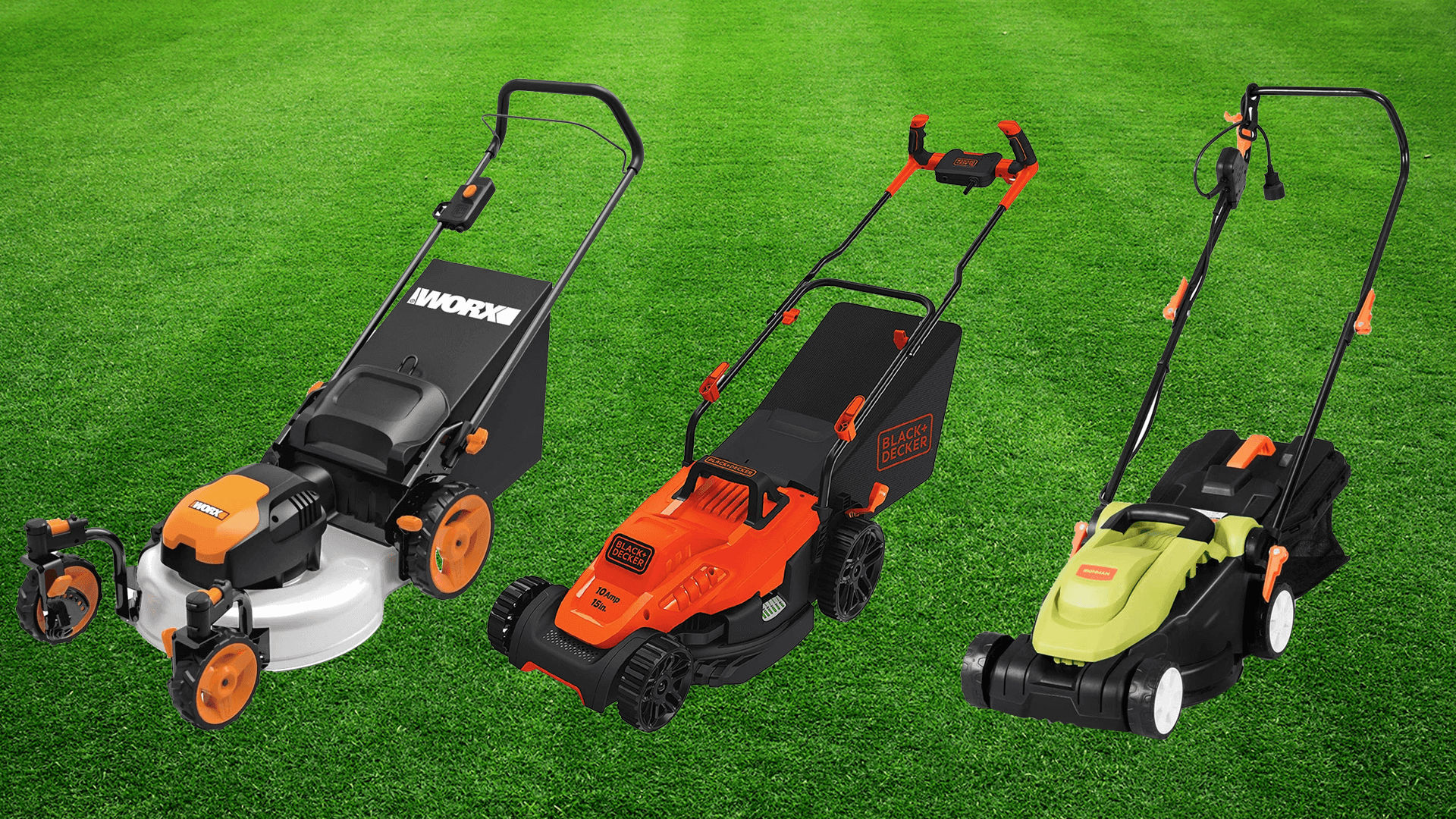 best corded electric lawn mower reviews en buying guide