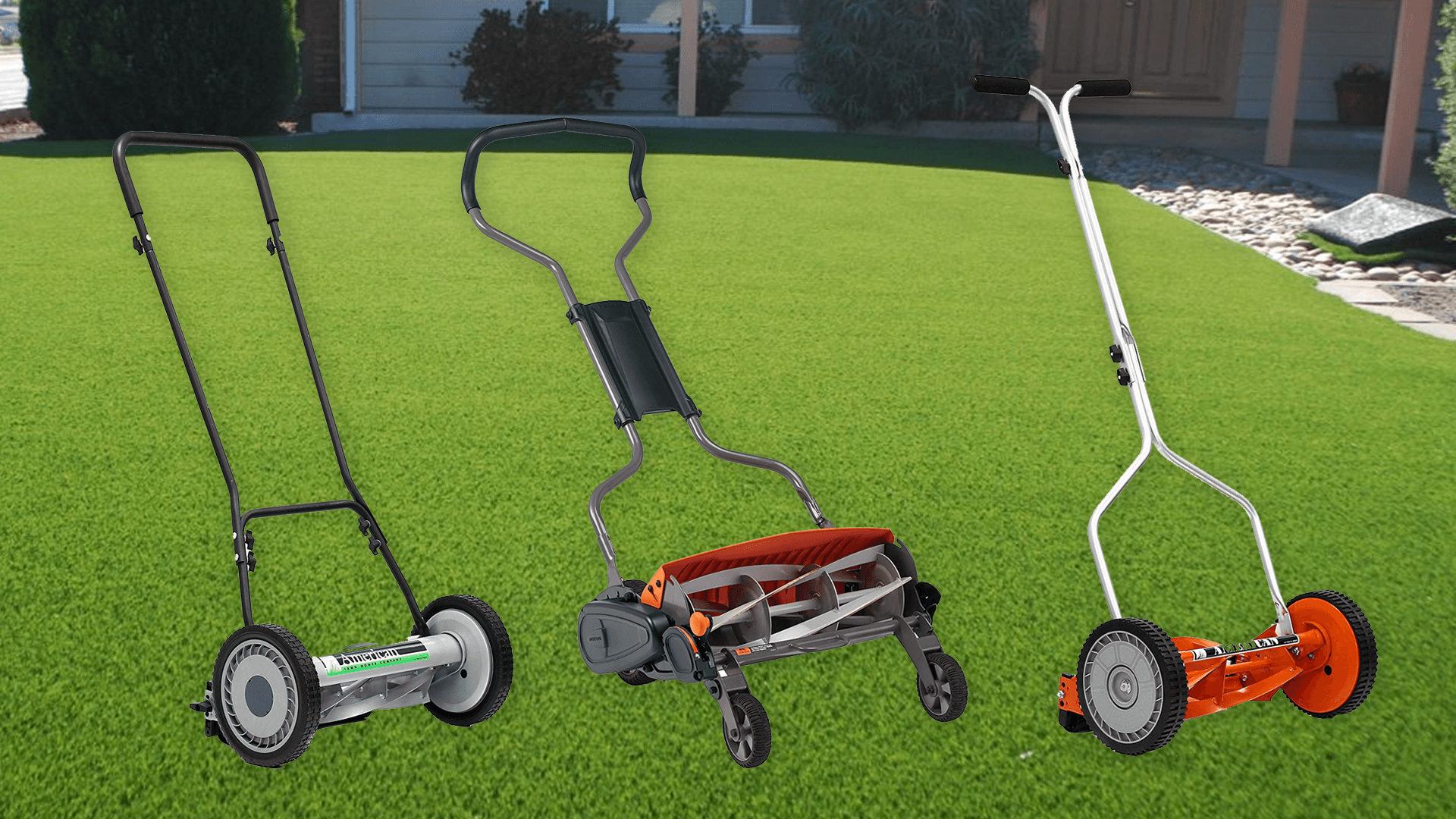 best reel lawn mower reviews and buying guide