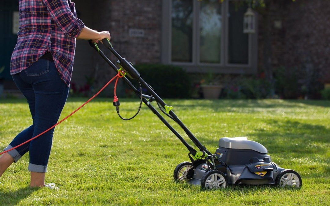 are electric corded lawn mowers any good