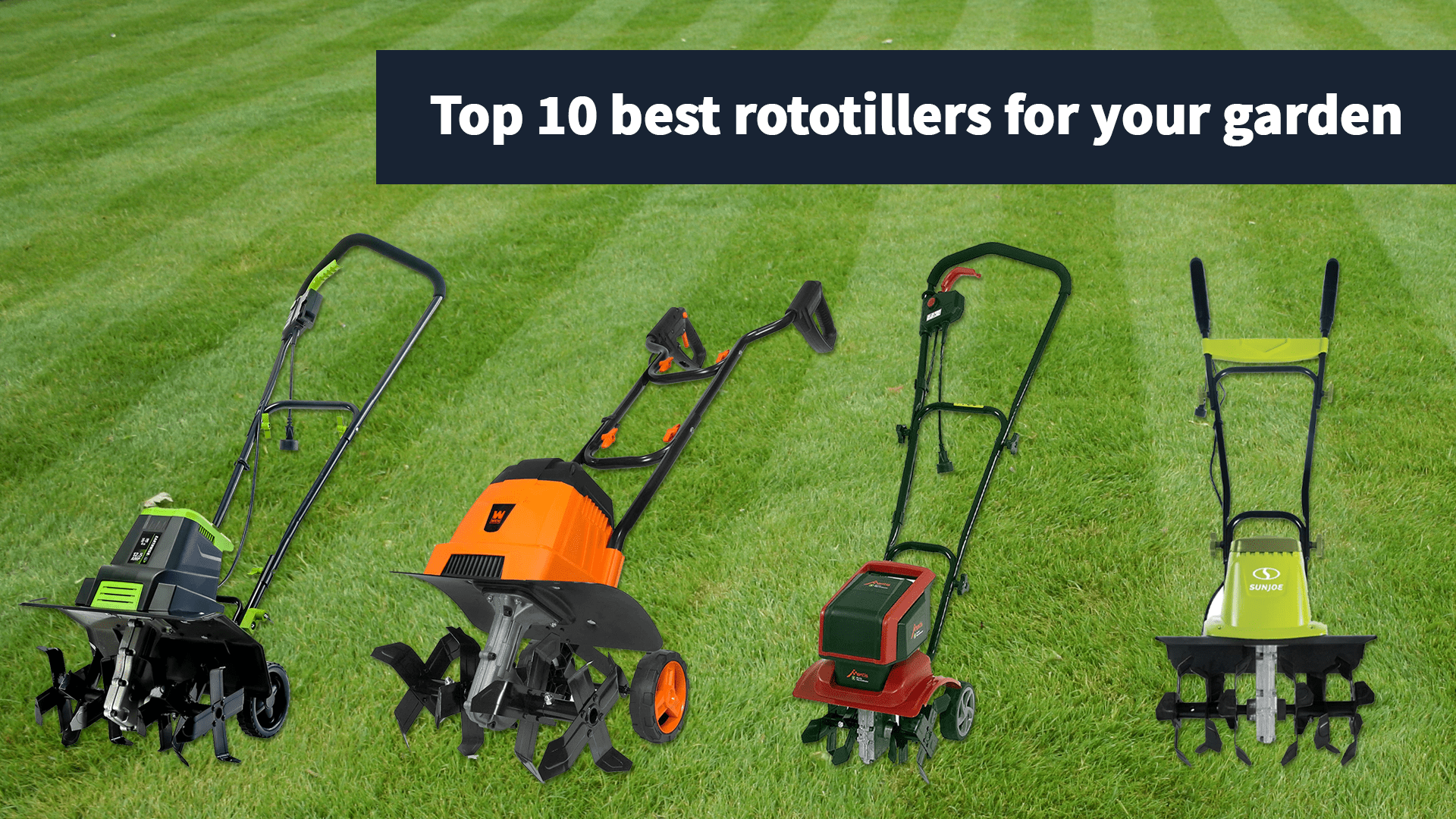 top 10 best rototiller for your garden according to landscaping professionals